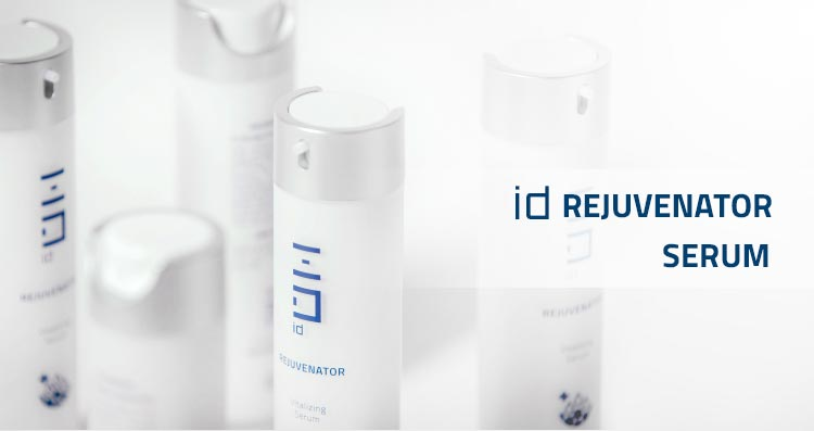 id REJUVENATOR CLEANSER & SERUM